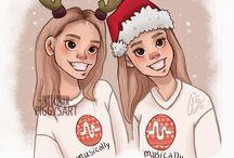 Lisa and Léna