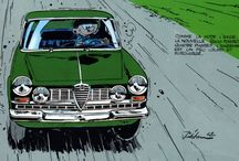 Alfa Romeo illustrated