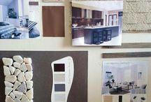 Mood Boards / These mood boards are a great inspiring idea for pattern and colour matching room concepts.