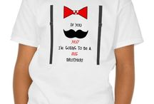 """I'm Going To Be A Big Brother Mustache Tshirt / This too-cute """"If you mustache yes! I'm Going to be a BIG Brother!"""""""