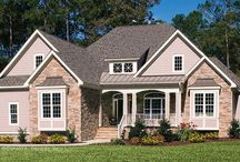 HomePlay / Choosing exterior colors and materials for your new home can be intimidating,  but HomePlay from Royal Building Products  helps you visualize the finished look. HomePlay is an online tool from Royal Building Products that has over 60 Don Gardner home designs set up for you to experiment with! You can change the style and color of the siding, windows, house trim, railing trim, front door, and pillars piece-by-piece until you love the way it looks.
