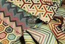 Kolorowe tkaniny wysokiej jakości
