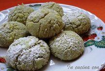 Biscotti al pistacchio di bront