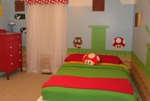 Carter's Mario Bedroom (5th Birthday) / by Andrea Estelle