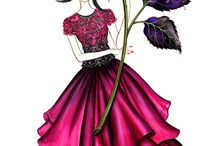 szkice mody