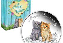 """Love and Wedding / Liebe und Hochzeit / """"Lovely"""" coins"""