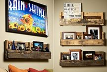 Pallets And Crate Ideas / by Tina Coover