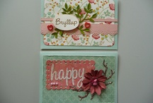 My scrapbooking cards / This is what I do in my sparetime, making scrapbooking cards to every occation.