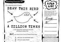 silly drawing worksheets