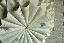 Rolled paper wreaths / by Debbie Scott