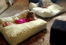 Ideas for kids floor cushions / Diy