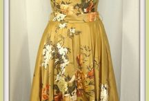 Vintage Collection / Yesteryears womens clothes very beatifull.