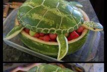 decorazioni con la frutta