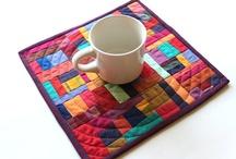Mug rugs - place mats ++ / Div. Småsøm