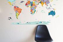 Kaarten / Wereldkaarten