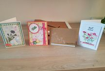 selfmade cards / some cards from me and some cards with help from pinterest