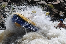 River rafting - Ash River - Clarens, SA / River rafting with Outrageous Adventures on the Ash River just outside Clarens in the Eastern Free State, South Africa.