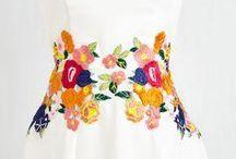 vestidos y bordados