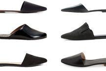 Footwear Spring / Summer 2016 / 1. Huge Flatforms 2. Tied up shoes 3. Flat Mules 4. Fringe shoes  5. Style it Silver