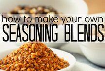 DIY jarring, seasonings & home goods