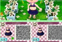 Bikini qr code Animal Crossing
