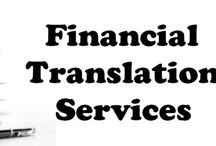 Financial Translation Services provider / Tridindia offering Financial Translation Services fast and 100% accuracy translation of financial communications in all different languages.