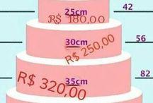 preço bolo