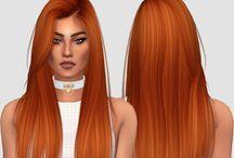 Sims CC Hair