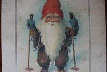 Jul , Cristmas ! / Decoupage til Jul! Decoupage for Cristmas!