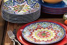 Plate ideas Blue