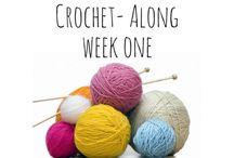 Crochet along MM