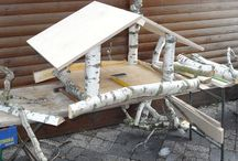 Birke - auch Outdoor / Du kannst von Birke nicht genug bekommen? Dann verschönere auch vor deiner Haustüre mit weißen Birkenstämmen  erhältlich unter  https://birkendoc.de/shop/