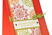 Stampin Up Set - Delicate Doilies / by Alison Barclay - Independent Stampin' Up!® Demonstrator