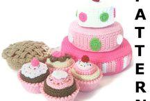 Crochet - playfood / Toys / by Precious - Perlereden