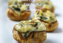 Stuffed mushrooms / by Connie Burgdorf