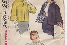 Vintage dresses and patterns