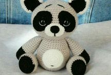 AMİGURUMİ KÛÇÛK PANDA