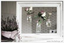 vensterbank decoratie