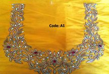 Work and Embriodery / Detailing of fabric n work