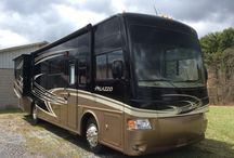 Summer Road Trips / Looking for a summertime road trip vehicle? Look no further. Let this 2013 Thor Palazzo 33.2 Class A Motor Coach take you to places you've never been before! https://goo.gl/7w2Ins