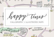 illustarted maps