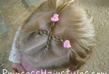 Hairstyles in children... / Children are precious, pure and very beautiful.