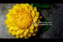 carving flower