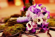 purple & plum & lavender wedding ideas