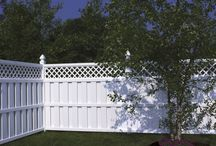 Bufftech Semi-Private Vinyl Fence / AVO Fence & Supply is a distributor and retailer of beautiful and durable Bufftech vinyl fence.