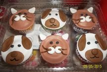 Ideas de cupcakes infantiles / Algunas ideas para celebrar a los mas pequeños de la casa.