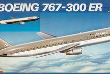 Aircraft Plastic kits, 1/144