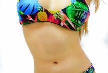 Pina the Tropical bikini set