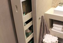 bathroom storage place
