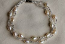 Freshwater Pearl Jewelry / Gorgeous freshwater pearl necklaces, bracelets and earrings in a variety of colors, shapes and sizes.